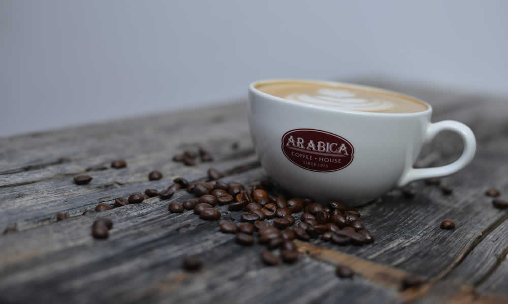 Discover the<br />Arabica Difference!